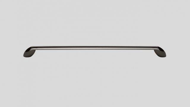 734 Металлическая ручка чёрный хром