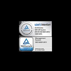 Сертифицированная система управления