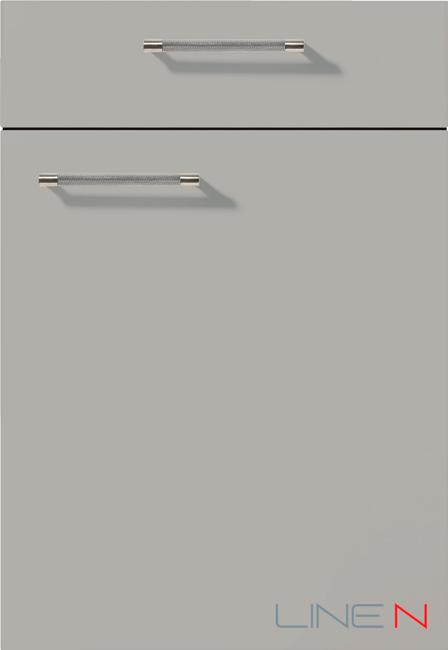 341 Touch Каменно-серый, лак-ламинат суперматовый