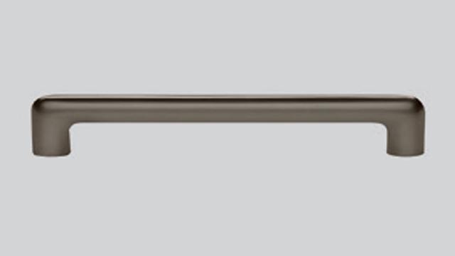 715 Металлическая ручка Антрацит, сатинирование