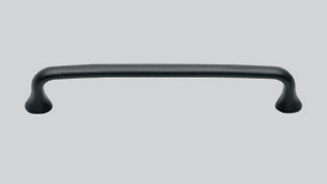 732 Чугунная ручка Чёрный