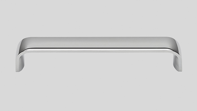 192 Металлическая ручка, глянцевый хром