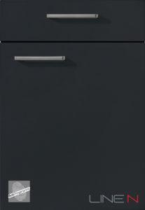 961 EasyTouch Лак-ламинат, черный графит ультраматовый